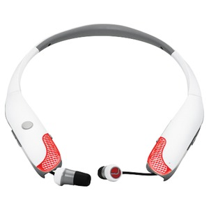 HearBand(TM) Sport with Bluetooth(R) & Microphones (White)