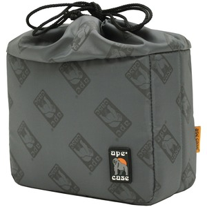 APE CASE(R) Cubeze(TM) Flexible Padded Storage Cube (Cubeze(TM) 33, Gray Exterior) ACQB33GY