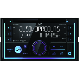 JVC(R) MOBILE KW-R935BTS Double-DIN In-Dash AM/FM CD Receiver with Bluetooth(R) & SiriusXM(R) Ready KW-R935BTS