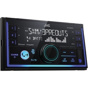 JVC(R) MOBILE KW-SX83BT Double-DIN In-Dash AM/FM Digital Media Receiver with Bluetooth(R) KW-SX83BT