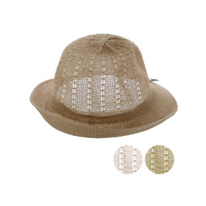 bulk buys Women's Woven Fashion Hat - (Case pack of 12) OC128