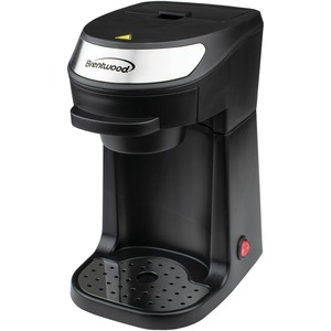 BRENTWOOD(R) APPLIANCES Single-Serve Coffee Maker with Mug TS-111BK