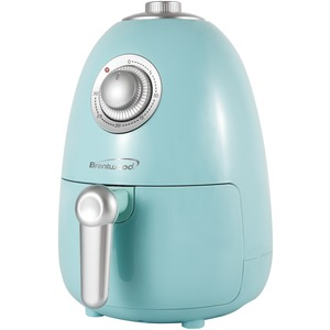 BRENTWOOD(R) APPLIANCES 2-Quart Small Electric Air Fryer with Timer and Temperature Control (Blue) AF-200BL