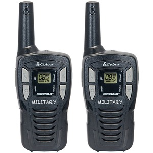 COBRA(R) HE145 16-Mile 22-Channel FRS/GMRS 2-Way Radios (Black) HE145