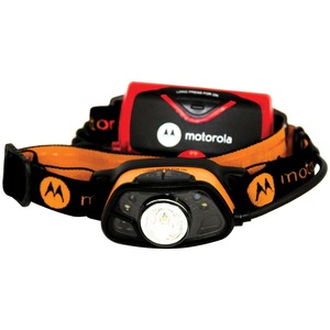 MOTOROLA(R) 250-Lumen Headlamp with Motion and Light Sensing Technology MHC250