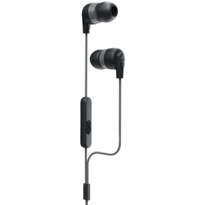 SKULLCANDY(R) Ink'd+ In-Ear Earbuds with Microphone (Black) S2IMY-M448