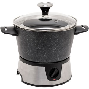THE ROCK(TM) BY STARFRIT(R) THE ROCK(TM) by Starfrit(R) 3.2-Quart Electric Fondue Set 024704-002-0000