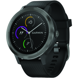 GARMIN(R) vivoactive(R) 3 (Black with Slate Hardware) 010-01769-11