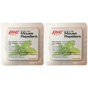 PIC(R) Natural Mint Mouse Repellent, 2-Count MR-2