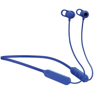 SKULLCANDY(R) Jib+(TM) Wireless In-Ear Earbuds with Microphone (Blue and Black) S2JPW-M101