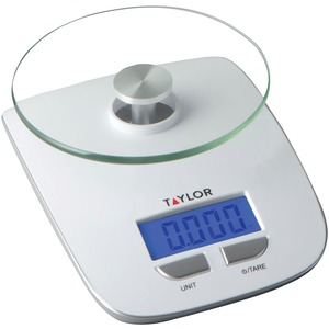 TAYLOR(R) PRECISION PRODUCTS Glass Platform Digital Kitchen Scale 384521