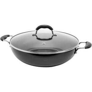 STARFRIT(R) Jumbo 13.5-Inch Wok with Lid 033170-002-0000