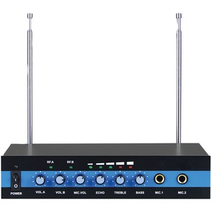 BLACKMORE PRO AUDIO Dual Channel Wireless Microphone System BMP-60