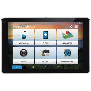 RAND MCNALLY(R) OverDryve(TM) 7 RV GPS Device with Built-in Dash Cam, Bluetooth(R) & Free Lifetime Maps 0528018477