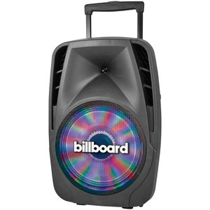 BILLBOARD(R) 120-Watt Bluetooth(R) Power Party Powered Speaker PWR-1