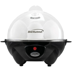 BRENTWOOD(R) APPLIANCES Electric Egg Cooker with Auto Shutoff (Black) TS-1045BK