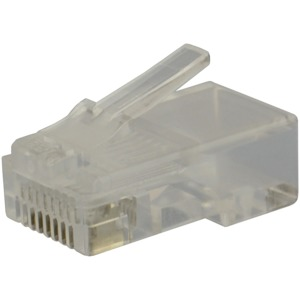 DATACOMM ELECTRONICS CAT-5E RJ45 Molded Plugs, 100 Pack 20-5703