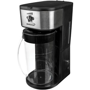 BRENTWOOD(R) APPLIANCES Iced Tea and Coffee Maker (Black) KT-2150BK