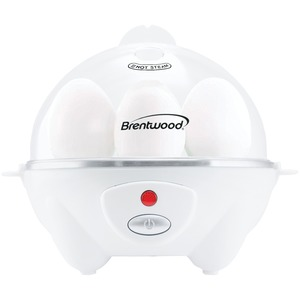 BRENTWOOD(R) APPLIANCES Electric Egg Cooker with Auto Shutoff (White) TS-1045W