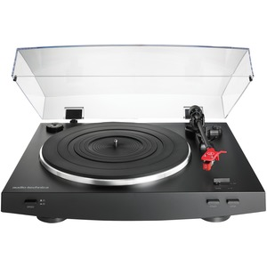 AUDIO-TECHNICA(R) Fully Automatic Belt-Drive Stereo Turntable (Black) AT-LP3BK
