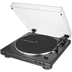 AUDIO-TECHNICA(R) Fully Automatic Belt-Drive Turntable with Bluetooth(R) AT-LP60XBT-BK