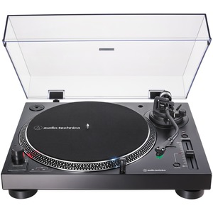 AUDIO-TECHNICA(R) Analog and USB Direct Drive Turntable (Black) AT-LP120XUSB-BK