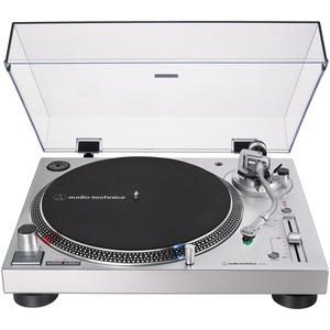 AUDIO-TECHNICA(R) Analog and USB Direct Drive Turntable (Silver) AT-LP120XUSB-SV