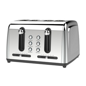 Extra Wide Slot 4-Slice Toaster