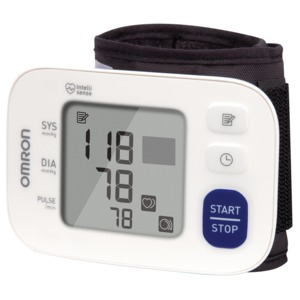 OMRON(R) 3 Series(R) Wrist Blood Pressure Monitor BP6100