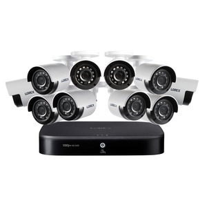 LOREX(R) 1080p HD 16-Channel DVR Security System with 2 TB Hard Drive and Ten 1080p Night Vision Security Cameras DF162-A2NAE