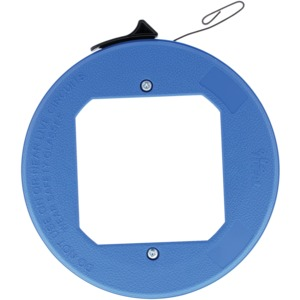 IDEAL(R) Blued-Steel(TM) Fish Tape with Formed Hook and Thumb Winder(TM) Case, 25 Feet 31-012
