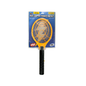 bulk buys Battery Operated Bug Zapper Tennis Racket - (Case pack of 4) OC613