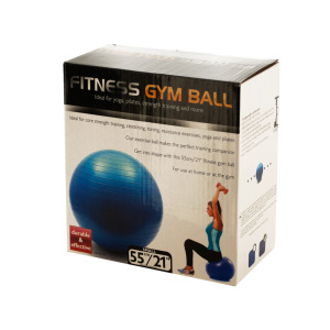 bulk buys Small Fitness Gym Ball - (Case pack of 1) OF021