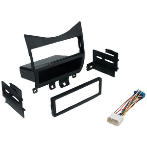 BEST KITS In-Dash Installation Kit (Honda(R) Accord 2003 & Up with Harness Radio Relocation to Factory Pocket Single-DIN) BKHONK823H