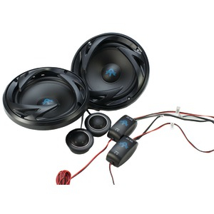 AUTOTEK ATS Series 6.5 inch. 300-Watt Component Speaker System with Crossover ATS65C
