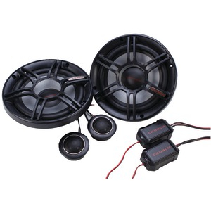 CRUNCH 6.5 inch. 300-Watt 2-Way Component CS Speaker System CS65C