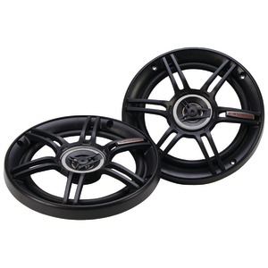 CRUNCH CS Speakers (6.5 inch. Shallow Mount Coaxial 300 Watts) CS65CXS