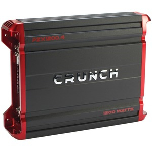 CRUNCH POWERZONE 4-Channel Class AB Amp (1200 Watts) PZX1200.4