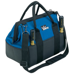 IDEAL 13 inch. Large Mouth Tool Bag 35-410