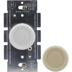 Knob-Style 3-Way Dimmer