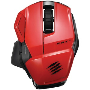 Office R.A.T.(TM) M Wireless Mobile Mouse (Red)