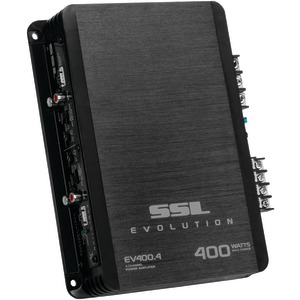 SOUNDSTORM EVOLUTION Series Class AB 400-Watt 4-Channel MOSFET Amp (Black) EV400.4
