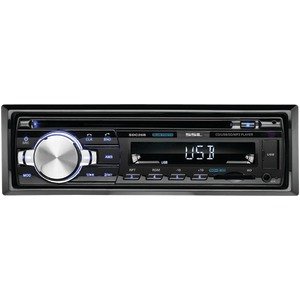 SOUNDSTORM Single-DIN In-Dash CD Receiver (With Bluetooth(R)) SDC26B