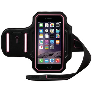 BODY GLOVE iPhone(R) 6 4.7 inch. ENDURANCE Armband (Black-Pink) 9487801