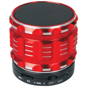 NAXA Bluetooth(R) Speaker (Red) NAS-3060RED
