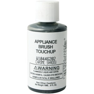 GENERIC Appliance Brush-on Touch-Up Paint (Chrome Shadow) W10446202