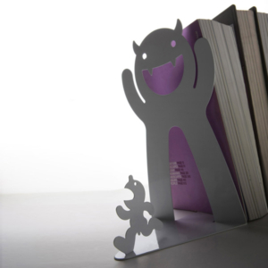 Mr. P Bookend White