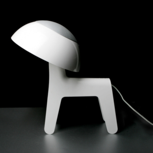 LAMP:DOG LAMP - WHITE - UL