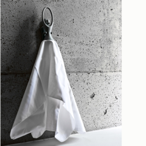 Swan Towel Hanger Grey
