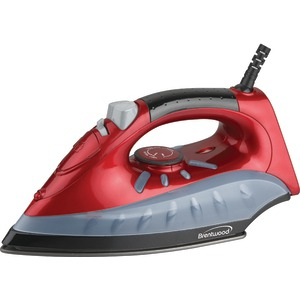 BRENTWOOD Non-Stick Steam-Dry Spray Iron (Red) MPI-61